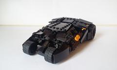 Lego Tumbler redux (I P R I M E I) Tags: lego batman custom batmobile batmanbegins moc tumbler thedarkknight