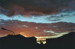 Nubes (Pau Barr) Tags: sunset sky film nature skyline clouds sunrise vintage atardecer nikon amanecer cielo nubes analogica aesthetic n65