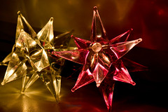 Glass stars (moreefox) Tags: light glass star decoration garland decor dailyphoto