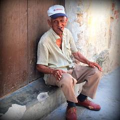 the Havana smoker (mujepa) Tags: portrait la character havana cuba cigar fumeur smoker cuban cigare streetshot personnage havane