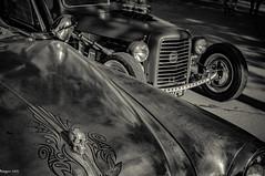 Skull & rod (ericbaygon) Tags: black car skull blackwhite nikon belgium noiretblanc meeting voiture american hotrod noirblanc amricaine d300s bratsmonkeys