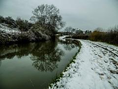 Coventry Canal near Hartshill (Eeee Bi Gum) Tags: winter england snow canal unitedkingdom warwickshire coventrycanal hartshill