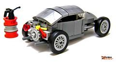 Volksrod (ZetoVince) Tags: car bug volkswagen greek lego beetle vince hotrod zeto volksrod