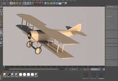 SPADXIII-WIP 17 (StratoArt) Tags: history 3d aircraft aviation military wwi cinema4d warbird biplane warplane spad xiii