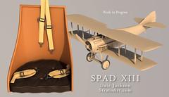 SPADXIII-WIP 57 (StratoArt) Tags: history 3d aircraft aviation military wwi cinema4d warbird biplane warplane spad xiii
