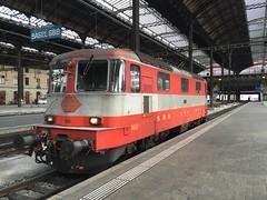Re 4/4 11109 Basel SBB (daveymills31294) Tags: swiss sbb basel class express re 44 ffs cff baureihe 11109