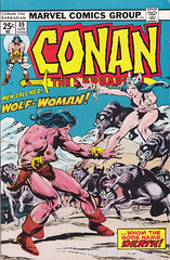 Conan 049 (micky the pixel) Tags: comics wolf comic marvel conan heft johnbuscema conanthebarbarian robertehoward dickgiordano wolfwoman