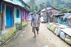 Vellakavi - a village considered so holy by it's inhabitants that footwear is prohibited. (parmeetkohli) Tags: mist fish mountains coffee trek peace tea country lakes culture kerala jungle gods own toddy kathakali