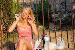 Lotti (hans_castorp2010) Tags: sexy beach teen topless blonde