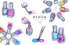 tumblr_nqv9ddKIJ51r2evdzo1_1280 (liz meester) Tags: liz art watercolor artist drawing nails draw meester lizmeester