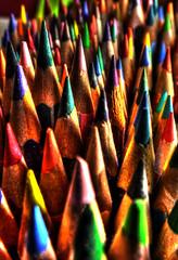 Pastelli (roberto.piscitello) Tags: colors shop pencil photoshop photo arte digitale luci colori hdr disegno legno matite fotoritocco pittura colorato pastelli