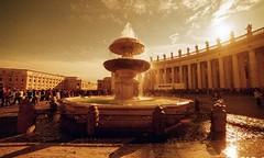 Rome, Vatican, lomography, 1 (Patrick.Raymond (2M views)) Tags: vatican rome lomography nikon fontaine italie contrejour argentique expressyourself nikonflickraward