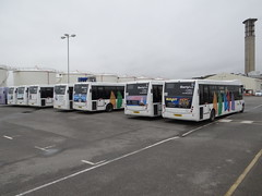 New rear ads (Coco the Jerzee Busman) Tags: uk islands coach ct jersey plus channel libertybus