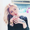 (elvajiyao) Tags: portrait people woman girl fashion tattoo hair asian high shanghai chinese makeup indoor tattoos heels elva gyaru