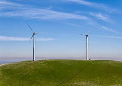 California Power  Barry Blanchard (BarryB.) Tags: sky grass wind turbine x5 windmachine altamontpass dji inspirepro