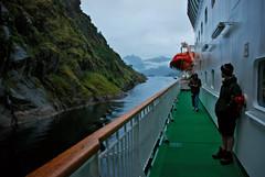 Entering Trollfjorden (Basse911) Tags: water norway norge ship fjord nordic hurtigruten trollfjord trollfjorden msnordnorge
