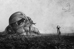 Verdun (http://www.agatti.com) Tags: france anime art grave monster mobile germany robot fan wwi tomb manga suit fanart scifi campo ww1 battlefield zaku tomba mecha kaiju tomboftheunknownsoldier battaglia militeignoto crossover verdun zeon ms06 alternatehistory uchronia oneyearwar