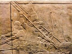 Assyrian Wall (- Ozymandias -) Tags: england london museum unitedkingdom assyrian μουσείο ευρώπη λονδίνο αγγλία ηνωμένοβασίλειο