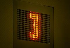 I Must Return to 3 (Orbmiser) Tags: winter 3 oregon portland nikon elevator numeral d90 55200vr