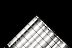 Illuminator - 19 (L D Middleton) Tags: lighting light blackandwhite bw abstract monochrome bulb dark lights fuji tubes ceiling strip fujifilm illuminator x100t ldmiddleton