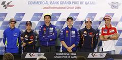 Rueda de prensa de presentacin del GP. Media Day Catar 2016. (Box Repsol) Tags: media day mgp motogp qatar catar