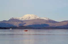 Loch Lomond (Michelle O'Connell Photography) Tags: landscape scotland boat scenery speedboat benlomond lochlomond scottishwinter michelleoconnellphotography