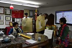 _DSC0045 (Confucius Institute at SDSU) Tags: chinese mohammed sdsu chinesepainting chineseart khaleel confuciusinstitute religiousstudies qinbailan cisdsu bailanqin