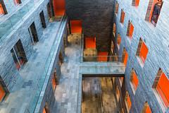 Beeld en Geluid (genf) Tags: blue orange color television museum radio sony sigma hilversum offices beeld a77 1835 geluid