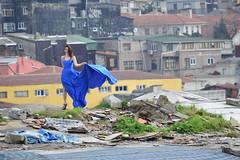DSC_1498 (zeynepcos) Tags: blue roof fashion model istanbul eminonu tahtakale bykvalidehan