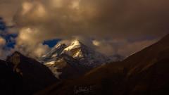 Himalayan Whisper (Subhadip C, AFIAP) Tags: sunlight india mountains clouds landscape la pass peak himalayas himachalpradesh rohtang subhadip