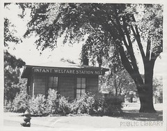 Infant Welfare Station No. 1, 1936-1941 (kplcommons) Tags: streets building history public station children photography infant michigan library gull kalamazoo adn welfare noth