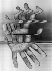 Scan 56: Above and Below (A Durst Photo) Tags: people art hand scanner bodypart typeofphotography alternativrprocess