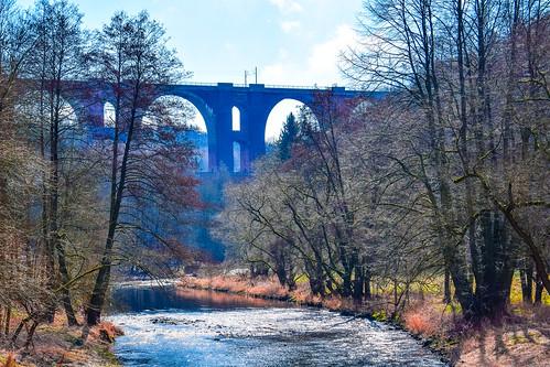 Elstertalbrücke ( Vogtland)
