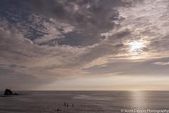 Magical Surf (scott calnon) Tags: ocean sunset sea nikon wideangle devon fullframe magical cloudscape atmospheric thurlestone d810 d810fx