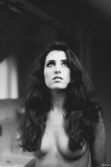 MF Series (pedroelbosque) Tags: brussels portrait people woman monochrome beauty nude blackwhite belgium boudoir grainy pedroelbosque
