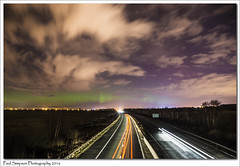 Lights in the Sky (Paul Simpson Photography) Tags: longexposure nature clouds space lincolnshire nighttime aurora scunthorpe northernlights magneticstorm photosof imageof photoof m181 imagesof lookinthesky sonya77 paulsimpsonphotography march2016