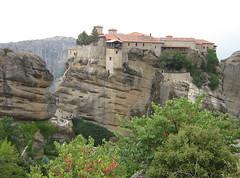 Meteora (cod_gabriel) Tags: abbey rock rocks greece monastery grecia griechenland grce grece meteora grcia griekenland yunanistan grekland grecja   grkenland hellenicrepublic grgorszg   ecko        yunani