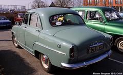 Simca Aronde 1956 (XBXG) Tags: auto old france classic car vintage french automobile champagne voiture des salon 51 1956 frankrijk reims belles ancienne simca marne aronde ardenne franaise simcaaronde dpoque 29me champenoises 801dk51