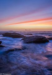 Ship to shore 2 (Mick Fletoridis) Tags: seascape clouds sunrise rocks surf colours ships sydney australia canonlens leefilters sonya7 sonyimages