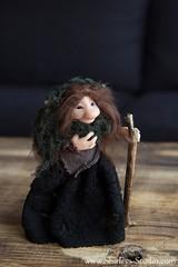 Dulcy (Shirleys Studio | Handmade Art Dolls) Tags: shirleysstudio shirleys studio beeldende kunst art artist grotto troll ooak dolls trollen trolletjes boswezens fantasy doll artdoll trol trolls figurine handmade