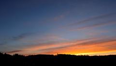 Flames (mj.cs) Tags: sunset sun sol skyline atardecer nikon puesta horizonte