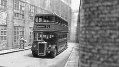 Yorkshire Woollen Bus 645, Factory Road. (ManOfYorkshire) Tags: bus scale model 645 yorkshire company diorama efe woollen diecast heckmondwike 176 factoryroad oogauge routeg hd8417