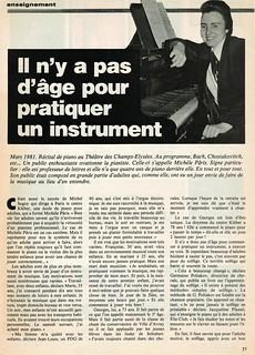 MICHEL SOGNY PRESSE MICHELE PARIS