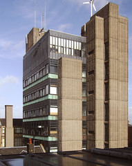 Newbery Tower, Glasgow School of Art (barnabas_calder) Tags: brutalism brutalistarchitecture newberytower keppiehenderson