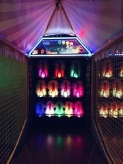 Down the Clown (BlackGlitch) Tags: game dark rainbow colorful bright circus clown arcade games creepy horror clowns arcadegame