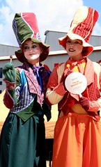 Ipswich Workshops open day 17 April (Photos by Lance) Tags: colour colourful lollipops ipswich entertainers polepeople imanipswichfan