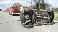 Incidente in via Hochberg a Bastia Umbra (32) (Gruppo Editoriale UmbriaJournal) Tags: bastia incidente
