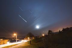 Meteor shower (Lux Obscura) Tags: light nature dark painting shower illusion meteor matter circumpolar