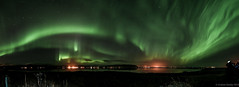 Aurora 11.. (Graham Hendey) Tags: panorama nature night iceland amazing nikon long exposure raw natural reykjavik aurora manual phenomenon phenomena occurrence 1635vr