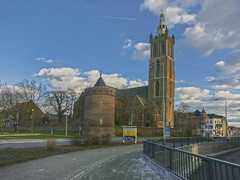 roermond Christoffelkathedraal  IMG_4502 (seyjo) Tags: church river places location historic maas hdr roermond urbanscape historiccity rur dutchcity steenenbrug seyjo